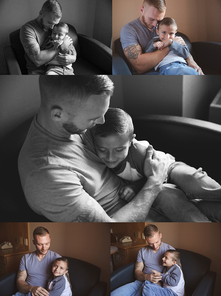Fresh 48 session hudson valley NY, Dad and big brother snuggling, Dad and son, set picture of dad and son, hospital family session, orange county,