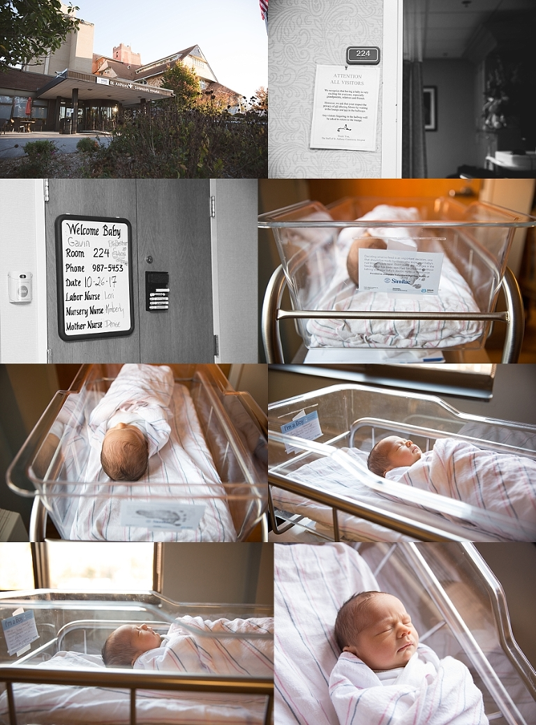Newborn, hospital photos, Orange county NY, fresh 48, Hudson valley ny,